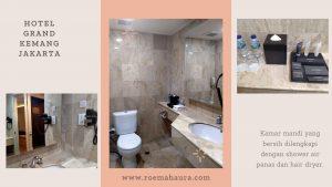 Fasilitas kamar mandi