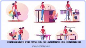kejenuhan ibu rumah tangga