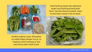 sayur lebih awet