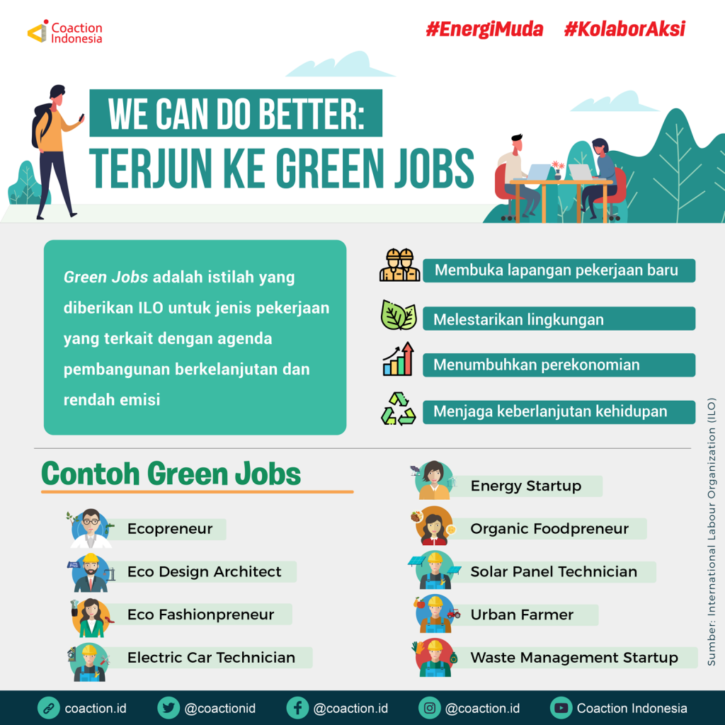 peluang kerja green jobs