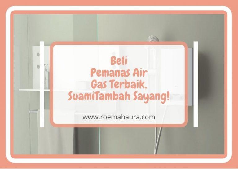 pemanas air gas terbaik