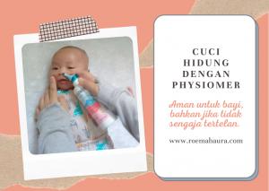 physiomer aman untuk bayi